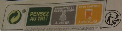 La purée de Carottes - Instrucciones de reciclaje y/o información de embalaje - fr