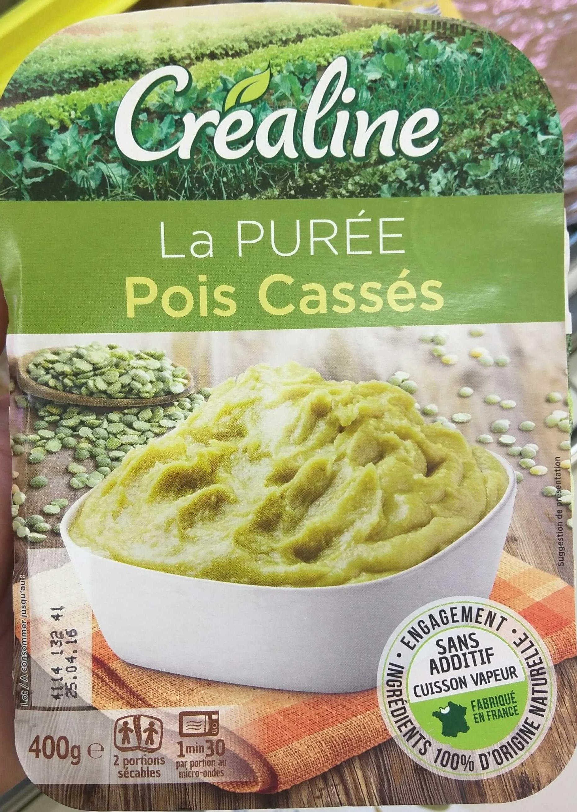 Purée de Pois Cassés - Produit - fr