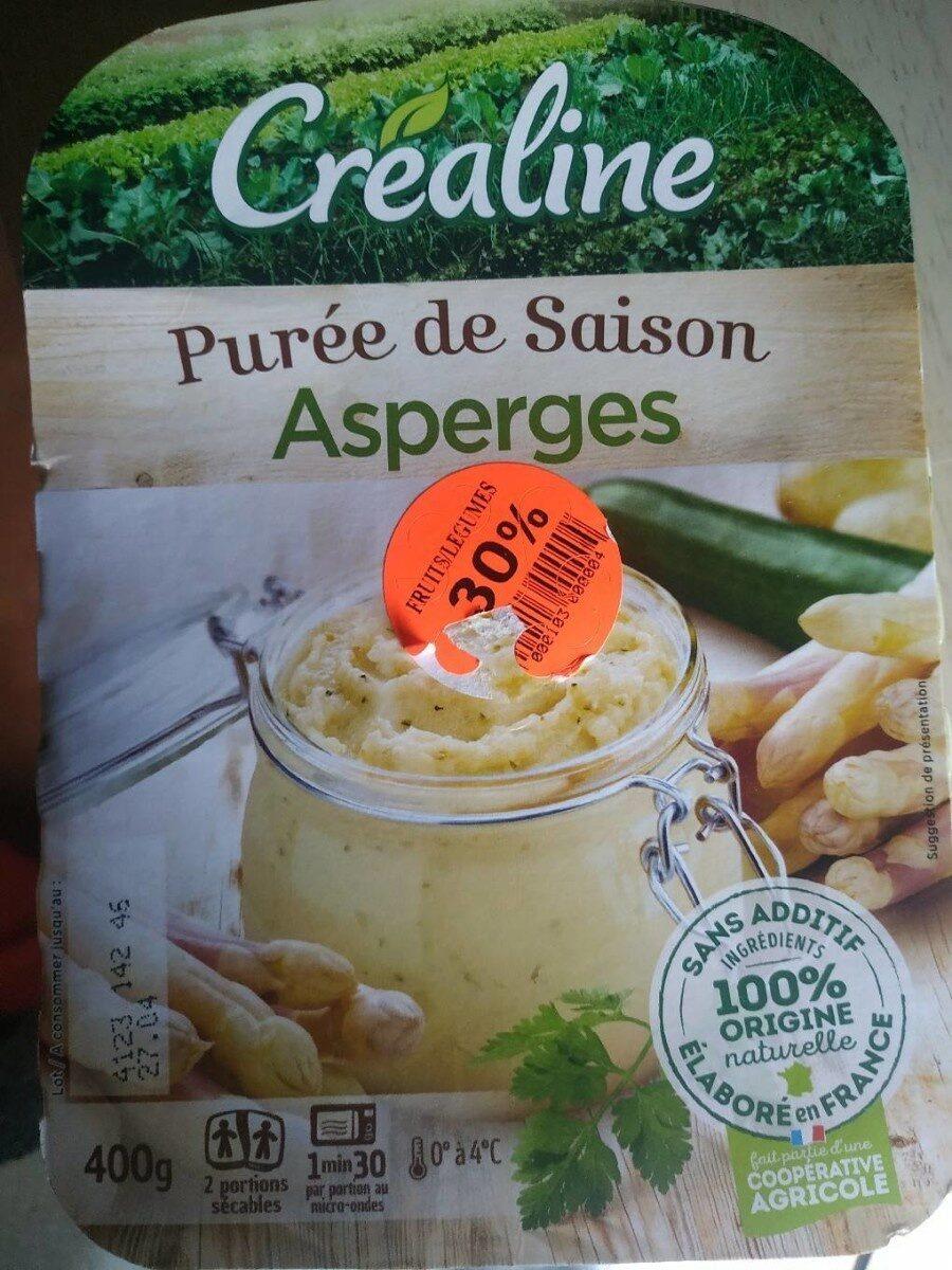 Purée de saison - Asperges - Produit - fr