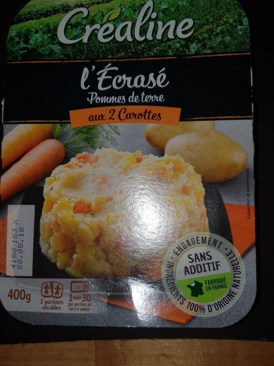 L'Écrasé de pommes de terre aux 2 carottes - Produkt - fr