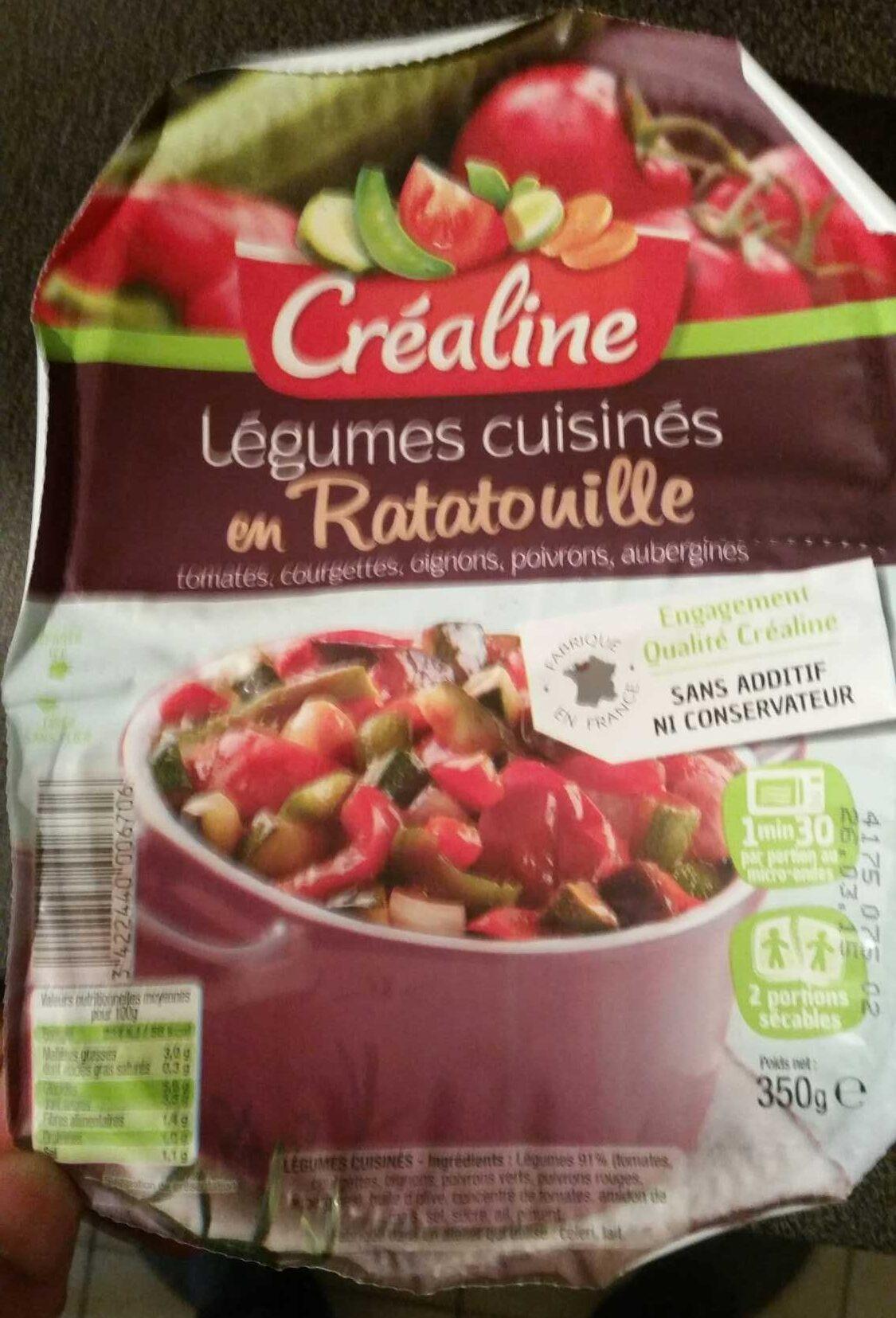 légumes cuisinés en ratatouille - Produit - fr