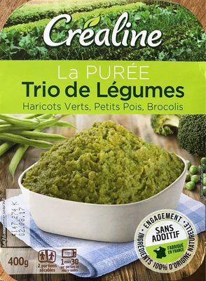 Purée trio de légumes verts - Produit - fr