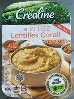 La PURÉE Lentilles Corail - Produit - fr