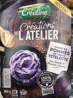 Création de l'Atelier purée pommes de terre vitelotte - Produit - fr