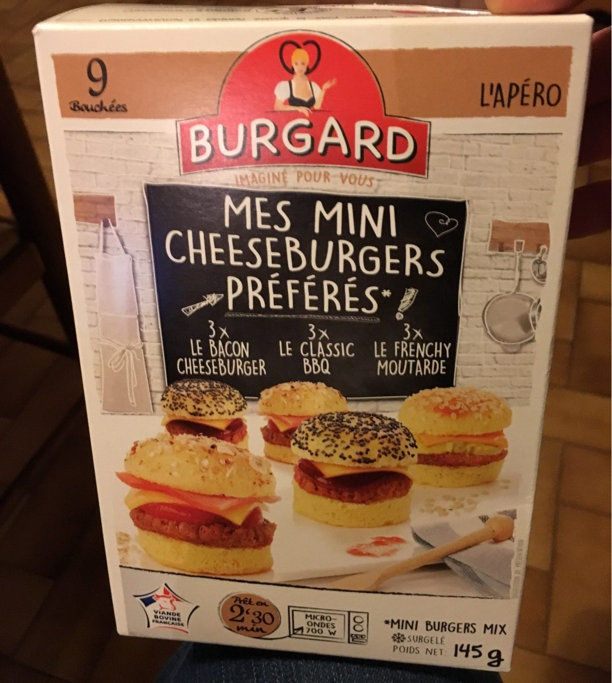 Mes mini cheeseburgers preferes - Product - fr
