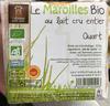Le Maroilles bio au lait cru entier Quart - Produit