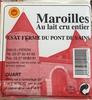 Maroilles au lait cru entier (quart) - Produit