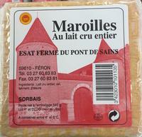Maroilles au lait cru entier (sorbais) - Produit