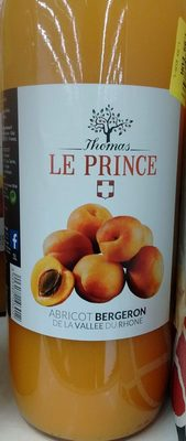 Thomas le Prince nectar d'abricot bouteille verre - Product