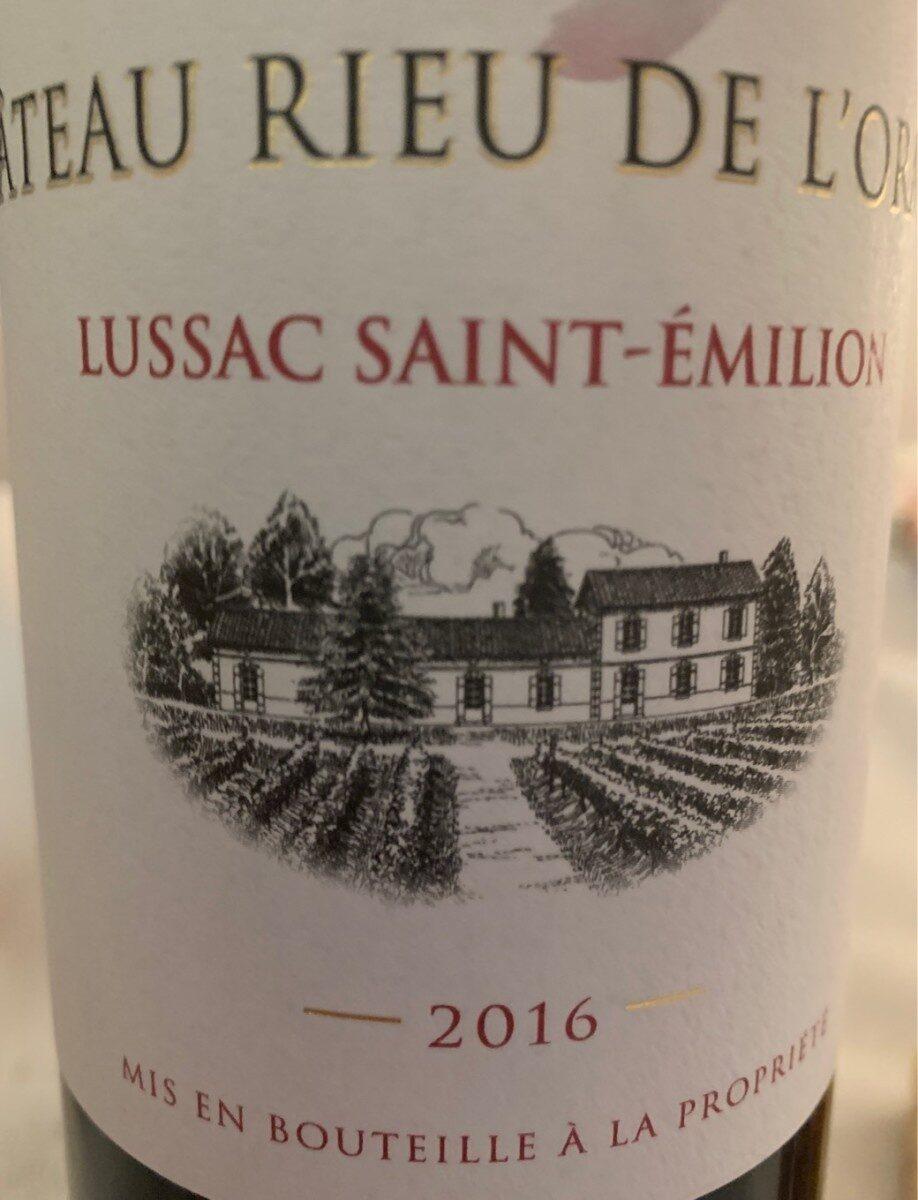 Lussac saint emilion - Product - fr