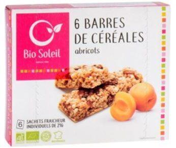Barres de Céréales Abricots - Product
