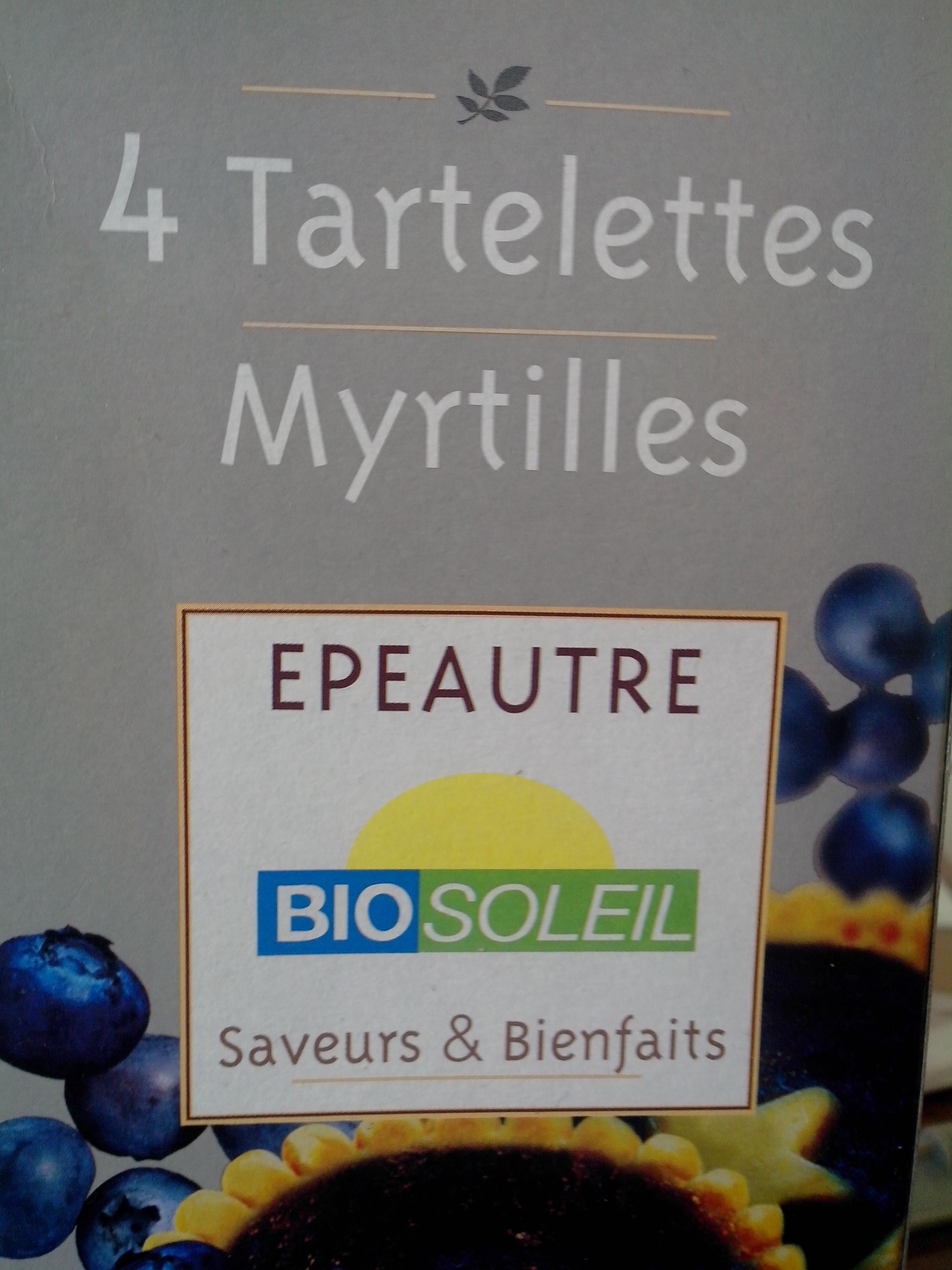 4 Tartelettes Myrtilles Épeautre - Product