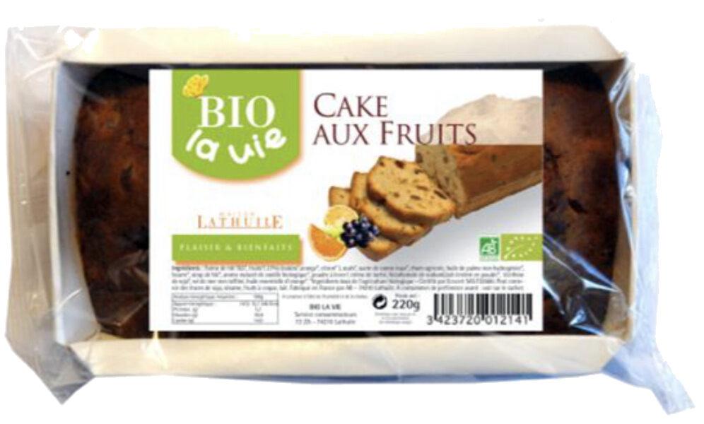 Cake aux fruits pour beurre - Product