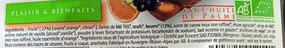 Cake aux fruits pour beurre - Ingrediënten