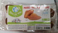 Madeleines Bio Pur Beurre 100% Farine D'épeautre - Produit - fr