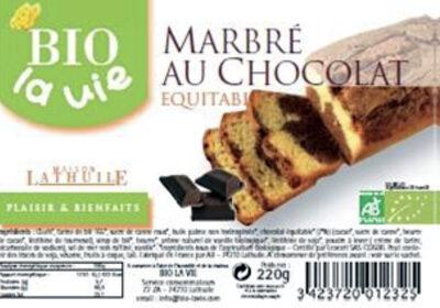 Marbré au chocolat équitable - Produit
