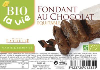 Fondant chocolat - Product - fr