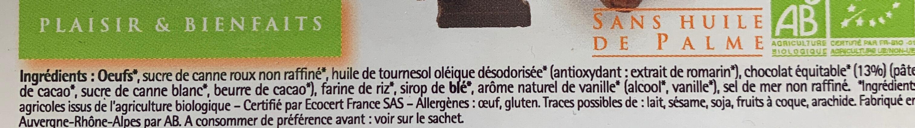 Fondant chocolat - Ingredients - fr