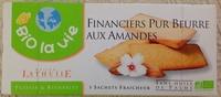 Financiers Pur Beurre aux Amandes - Produit