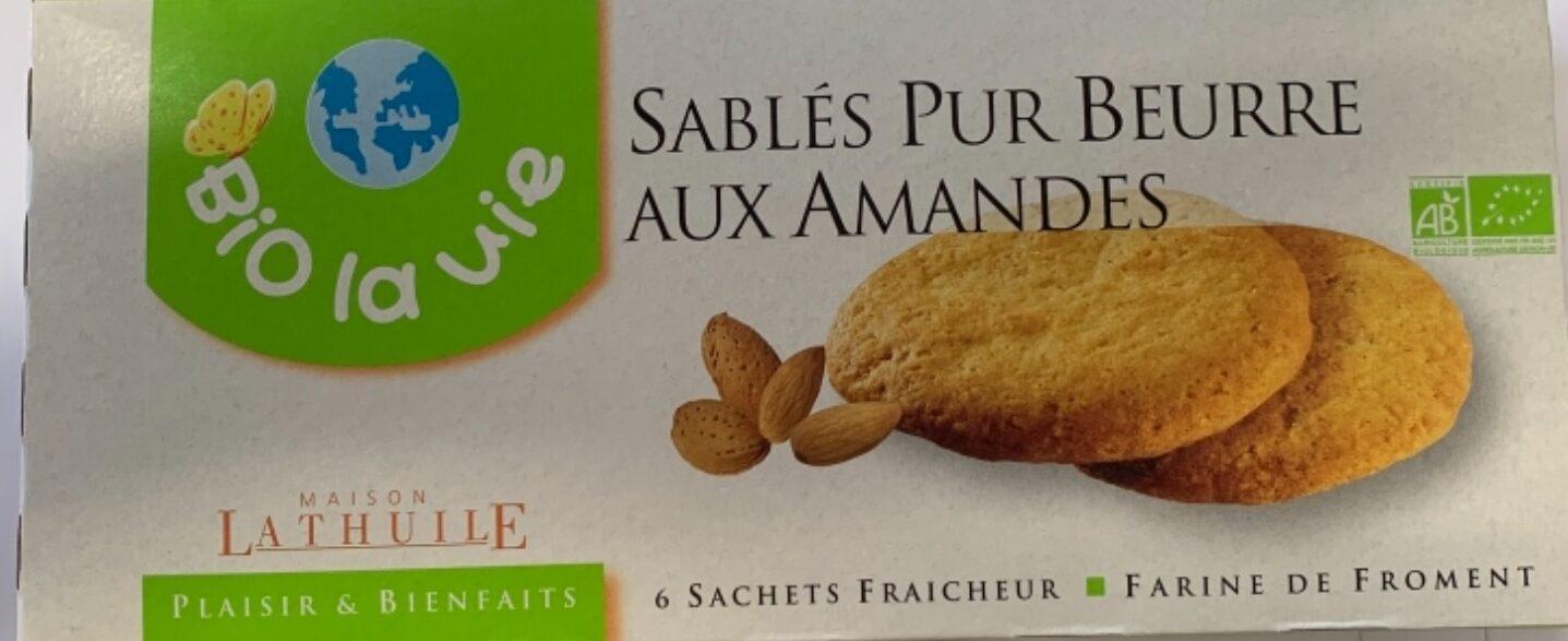 Sablés Pur Beurre aux amandes - Product - fr