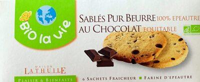 Sablés pur beurre au chocolat - Produit