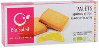 Palets D'epeautre Quinoa & Citron - Produit - fr