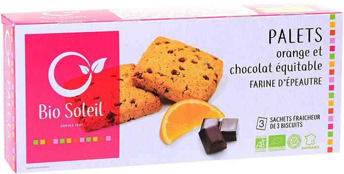 Palets Orange & Chocolat Equitable - Produit - fr