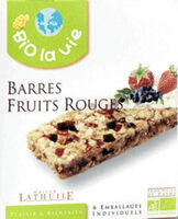 Barres Bio Fruits Rouges - Product - fr