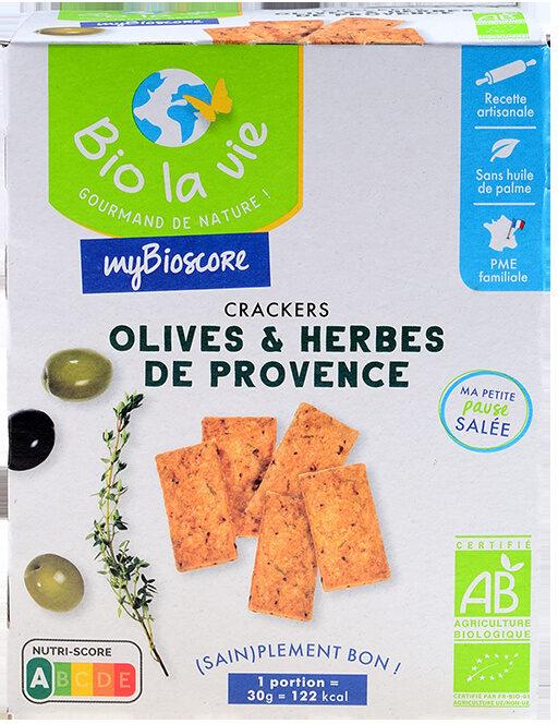 Mybioscore Olives et Herbes de Provence - Produit - fr