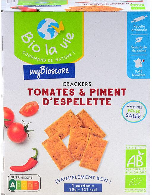 Mybioscore Tomates & Piment d'Espelette - Produit - fr