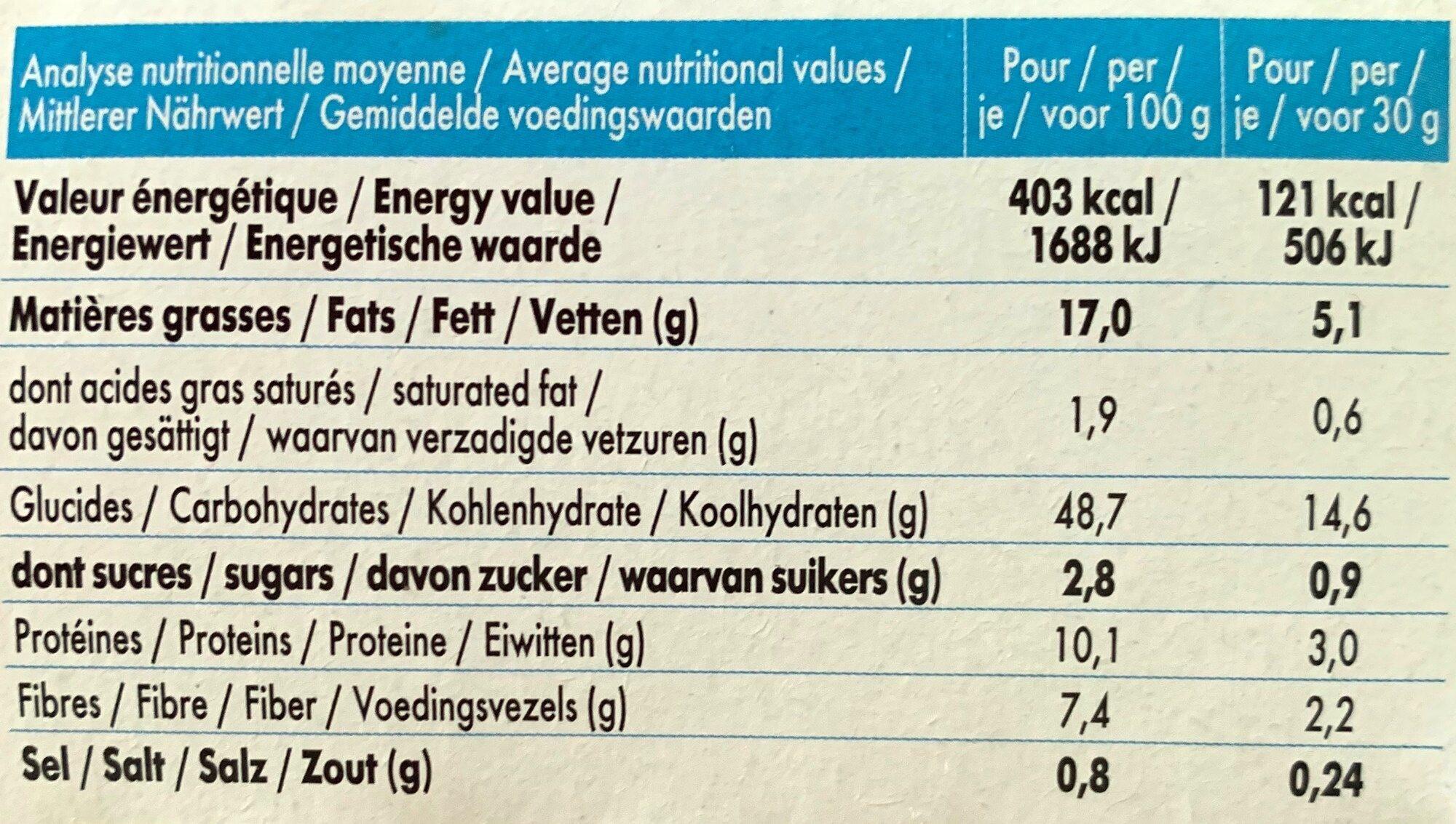 Mybioscore Tomates & Piment d'Espelette - Informations nutritionnelles - fr