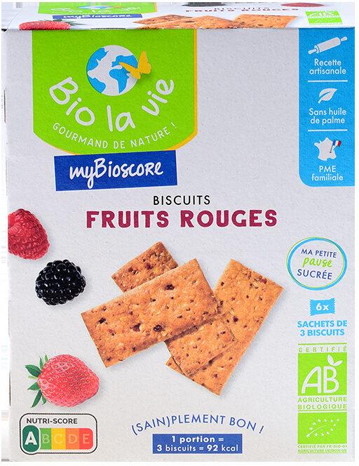 Mybioscore Fruits Rouges - Produit