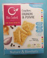 Nature&Bienfaits Crackers Oignon et Poivre - Product