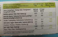 Nature&Bienfaits Crackers Oignon et Poivre - Nutrition facts