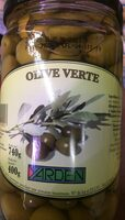Olives vertes - Product - fr
