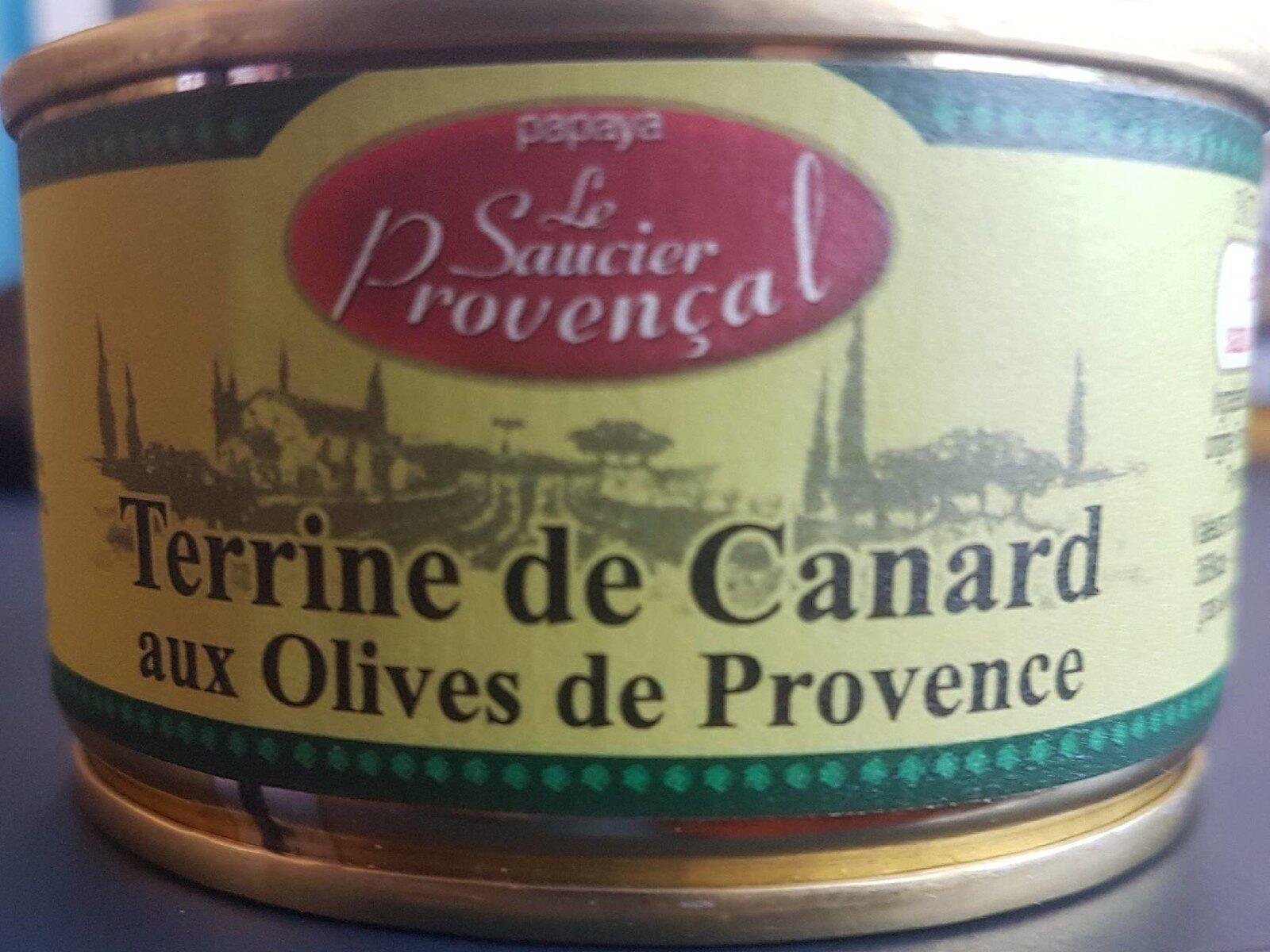 Terrine de canard aux olives de Provence - Produit - fr