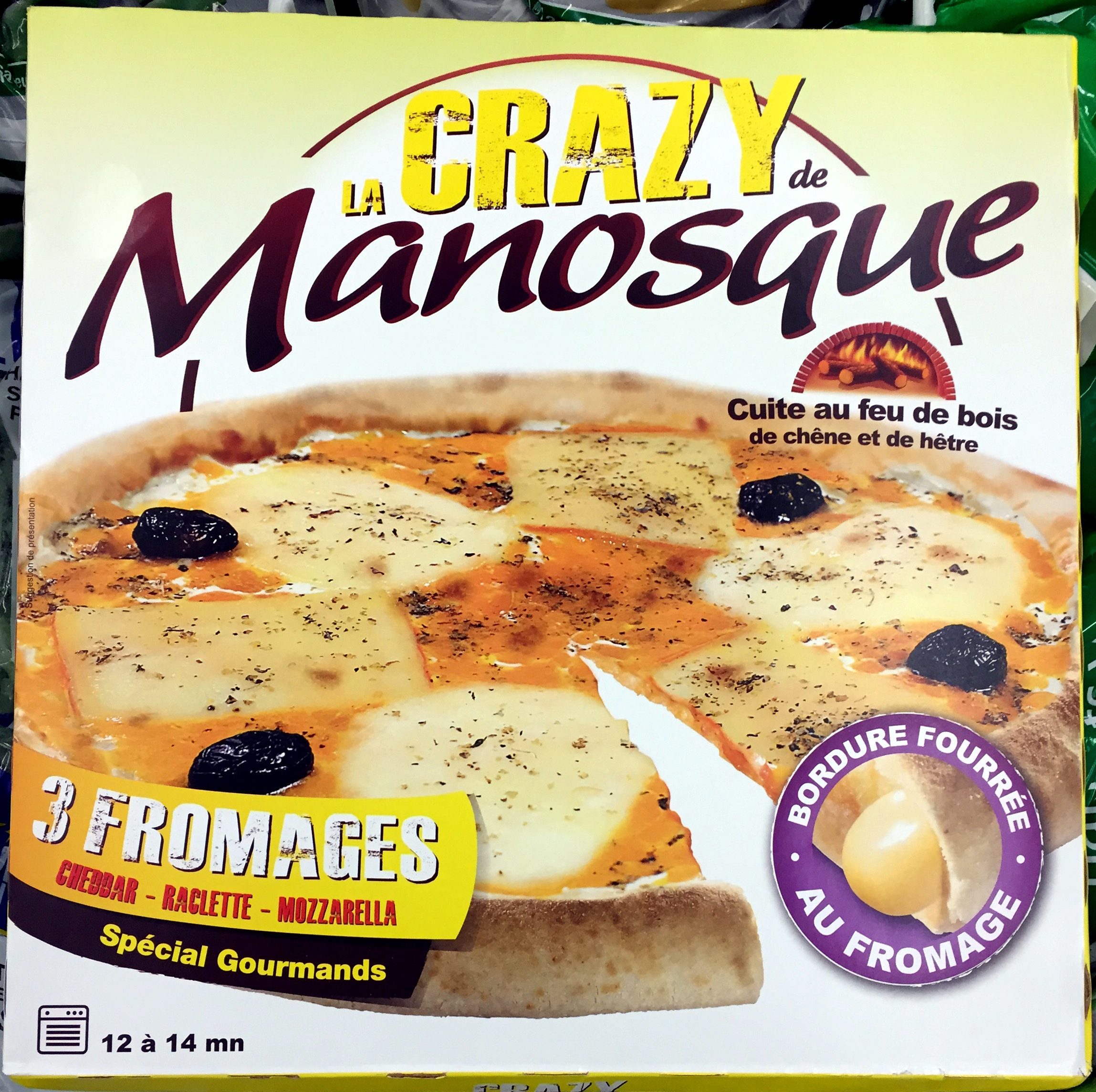 La Crazy 3 Fromages - Product - fr