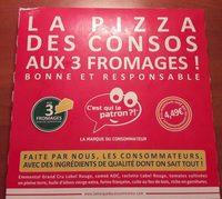 Pizza surgelée 3 fromages - Produit - fr