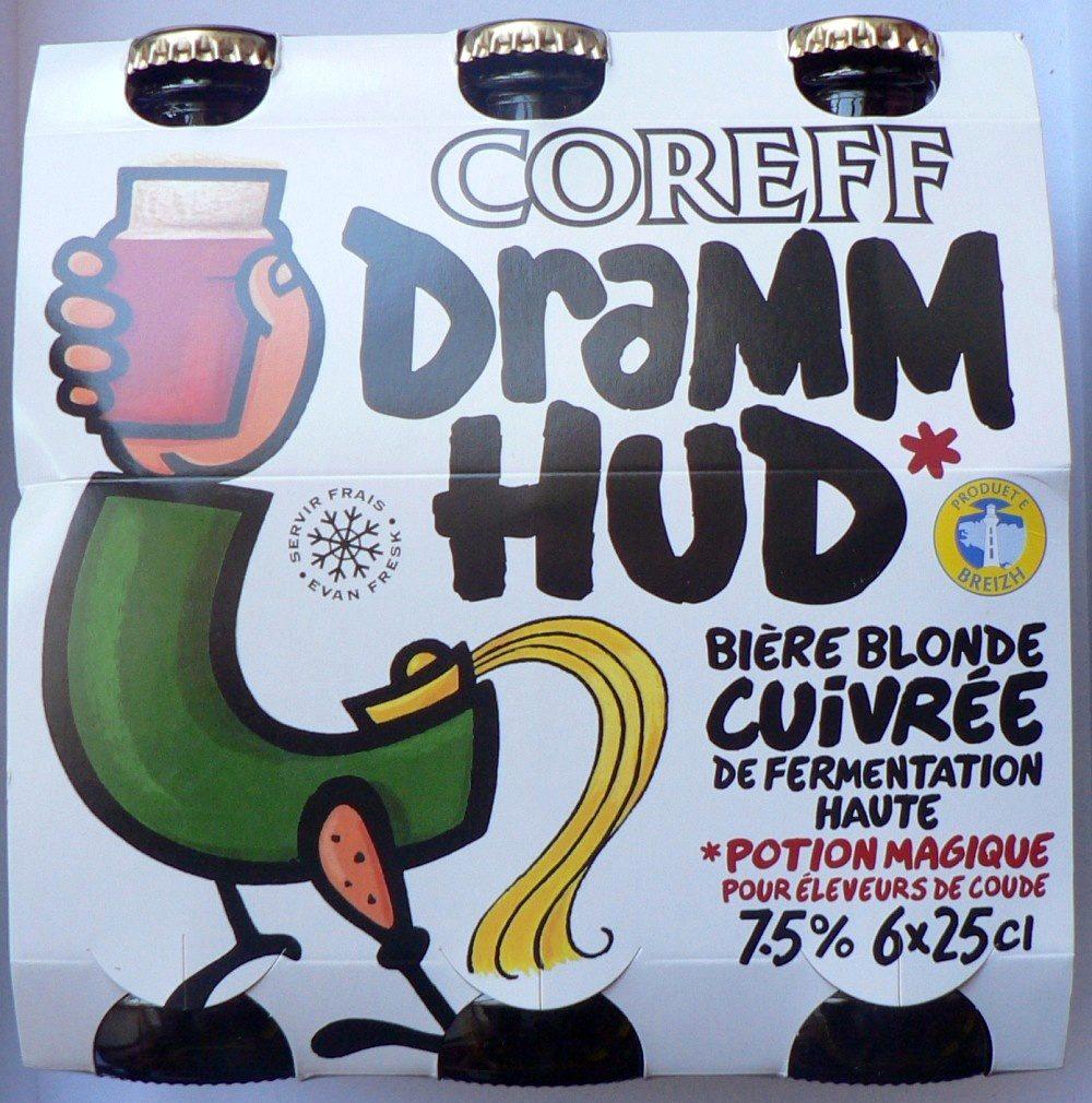 Bière Coreff Dramm Hud - Produit - fr