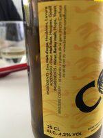 Coreff blonde melen pur malt - Informations nutritionnelles - fr