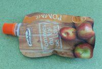 Purée de pommes en gourde - Produkt - fr