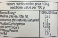 Confiture Peche Abricot - Ingredients - fr