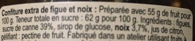 Figue et Noix - Ingredients - fr