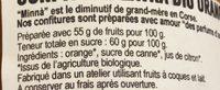 Confiture d'orange - Ingrédients - fr