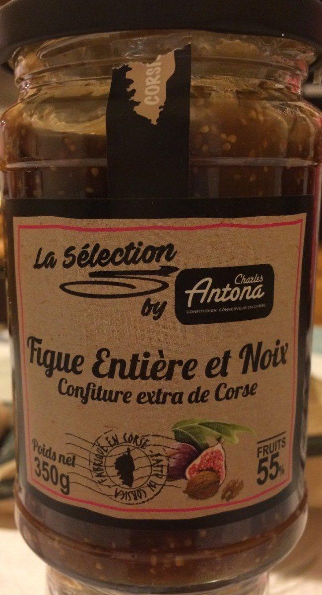 Confiture extra de Corse - figue entiere et noix - Produit