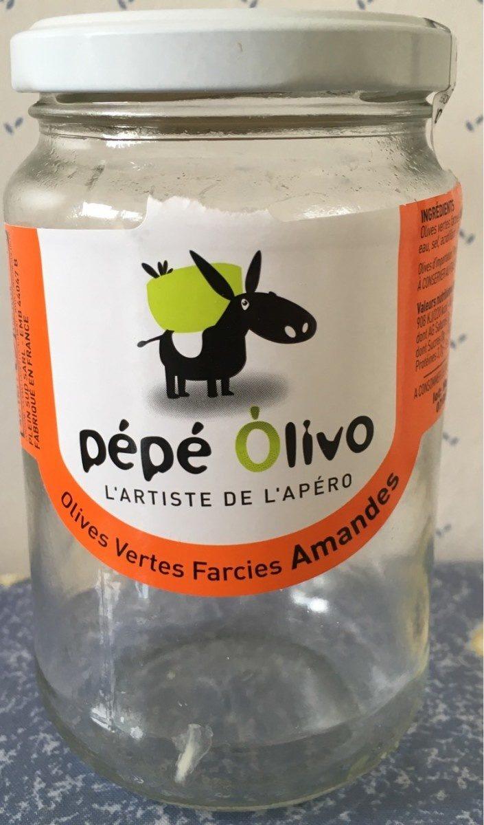 Olives vertes farcies amandes - Product