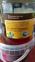 Miel de châtaignier - Informations nutritionnelles - fr