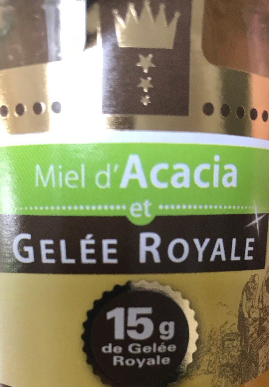 Miel d'acacia et gelee royale - Product - fr