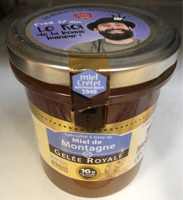 Spécialité à base de miel de montagne et gelée royale - Product - fr