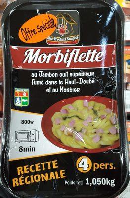 Morbiflette au jambon fumé cuit dans le Haut-Doubs - Produit